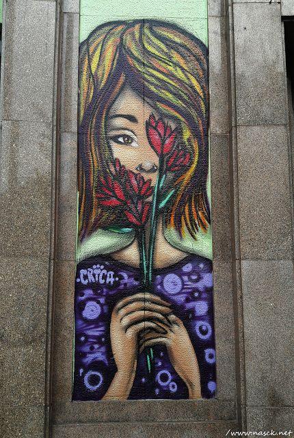 Graffiti na Praça da Bandeira/Av. Nove de Julho/SP