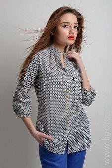 #blouse #winter #autumn #LinoRusso #cotton #РусскийЛен