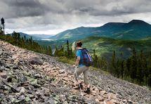 Scenic trails in Canada