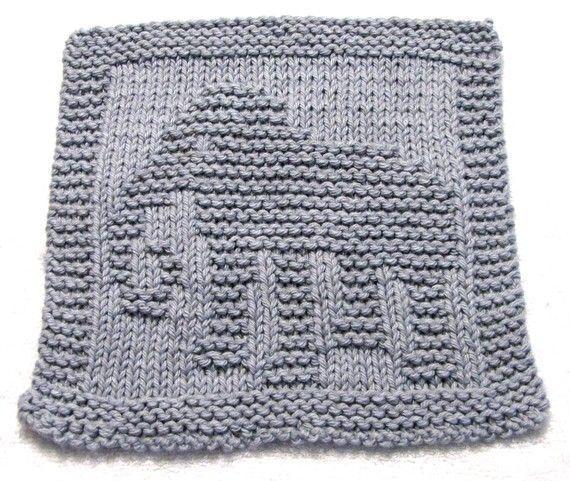 Knitting Cloth Pattern ELEPHANT PDF