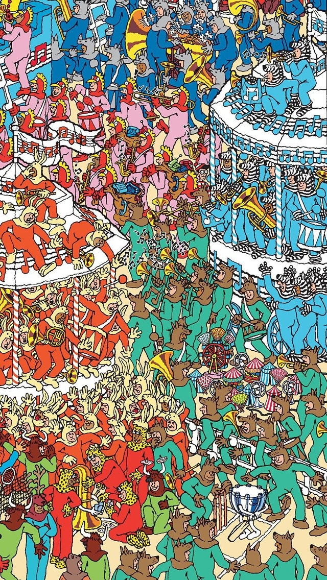 Read our latest blog to connect Where's Waldo and homelessness