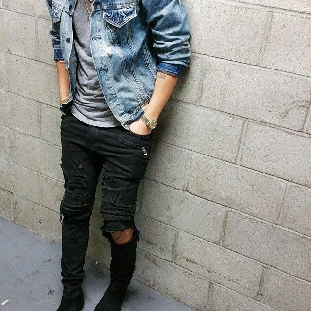 This is exactly why I can't stress enough about the need for a great denim jacket!