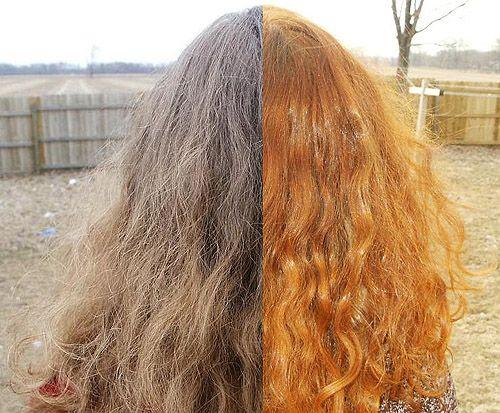 Окраска волос хной фото