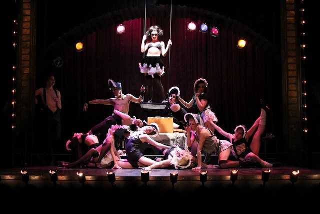 Cabaret at Hart House Theatre, directed by Adam Brazier. Photograph by Daniel DiMarco