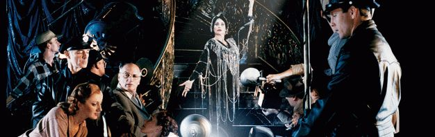 SUNSET BOULEVARD - Based on the Billy Wilder film, the musical version of Sunset Boulevard, with music by Andrew Lloyd Webber and lyrics by Christopher Hampton and Don Black, had its world premiere at London's Adelphi Theatre on July 12th, 1993.  (reallyuseful.com)