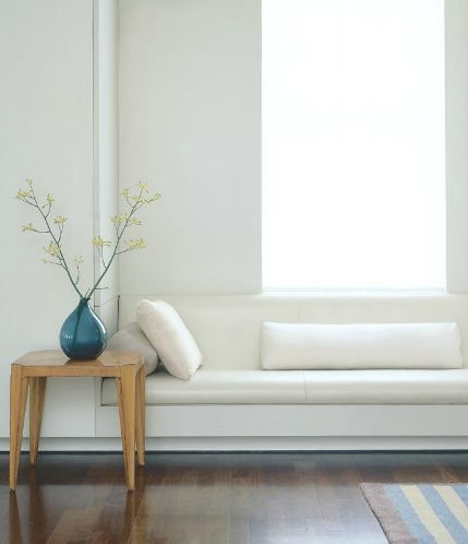 Okay.  I like this streamline white built in window seat.  Modern clean lines. http://cococozy.com