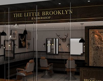 """Check out new work on my @Behance portfolio: """"LITTLE BROOKLYN BARBER SHOP"""" http://be.net/gallery/59532973/LITTLE-BROOKLYN-BARBER-SHOP"""