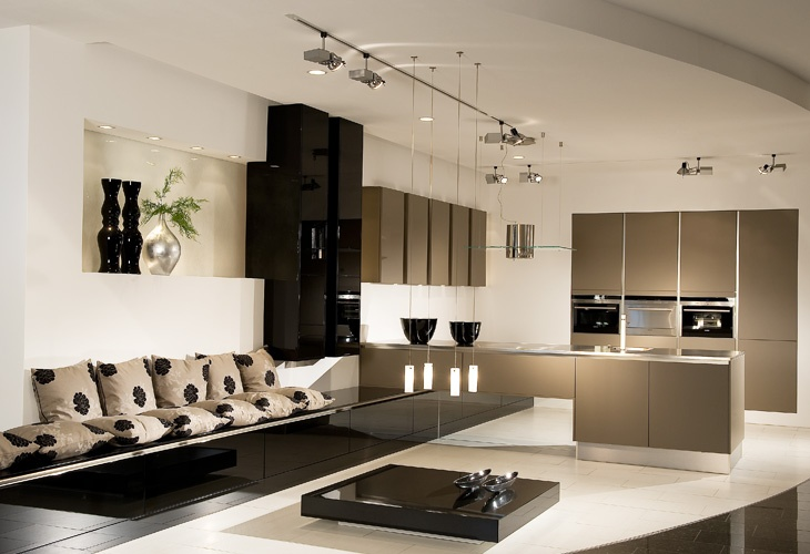 braune k che von h cker brown kitchen by h cker. Black Bedroom Furniture Sets. Home Design Ideas