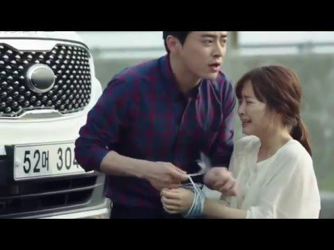 Oh my ghost! Dramatic chasing scene