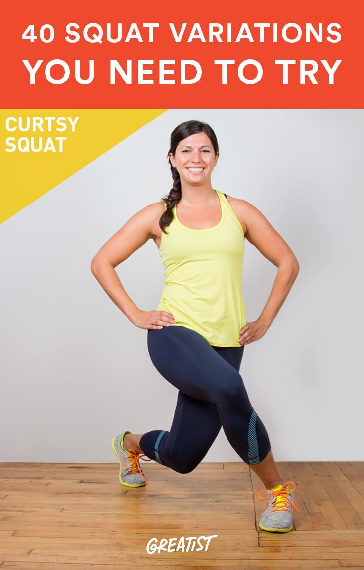 All of these will work your entire posterior chain starting with your feet and going up through... http://greatist.com/move/squat-variations-you-need-to-know