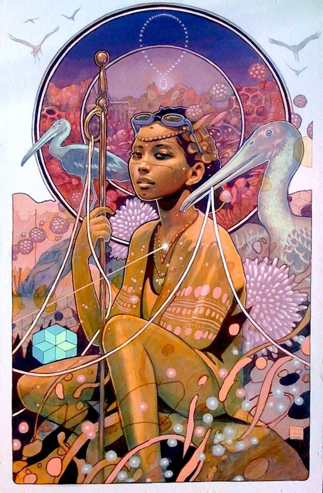 Meet Eight New Afrofuturism Artists Creating a Future of Color