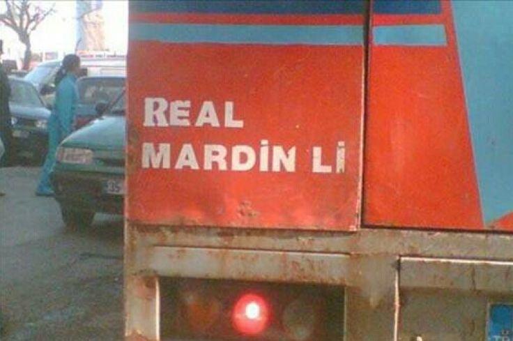 Real Mardin'li  #mizah #matrak #komik #espri #şaka #gırgır #komiksözler #arabaarkasıyazılar #kamyonarkasıyazılar
