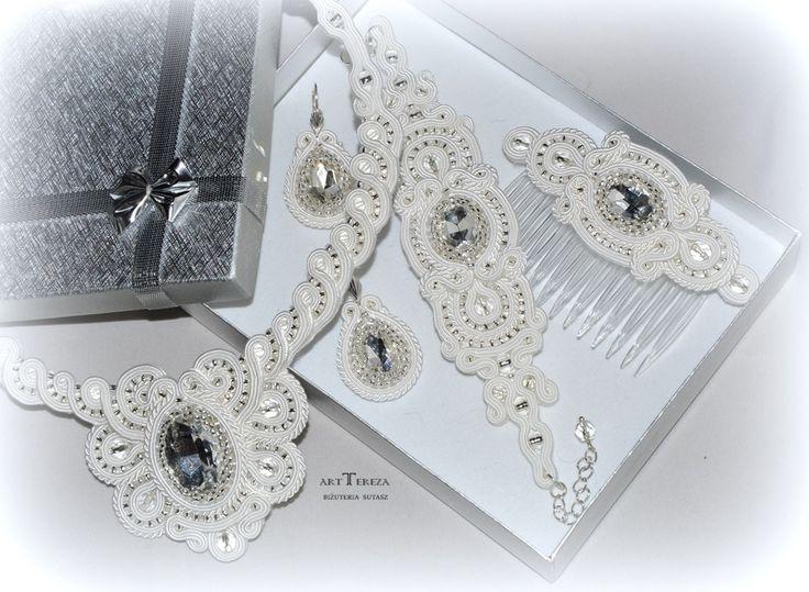 biżuteria ślubna sutasz cztery części