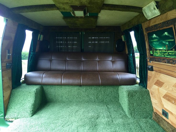 1977 Dodge Tradesman Custom Van InteriorCamper