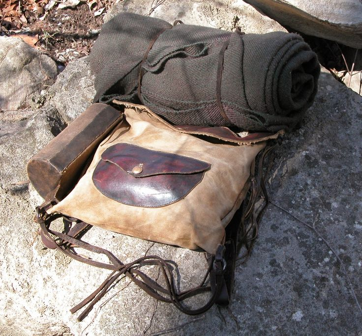 Contemporary Makers: Knapsack by Joe Mills