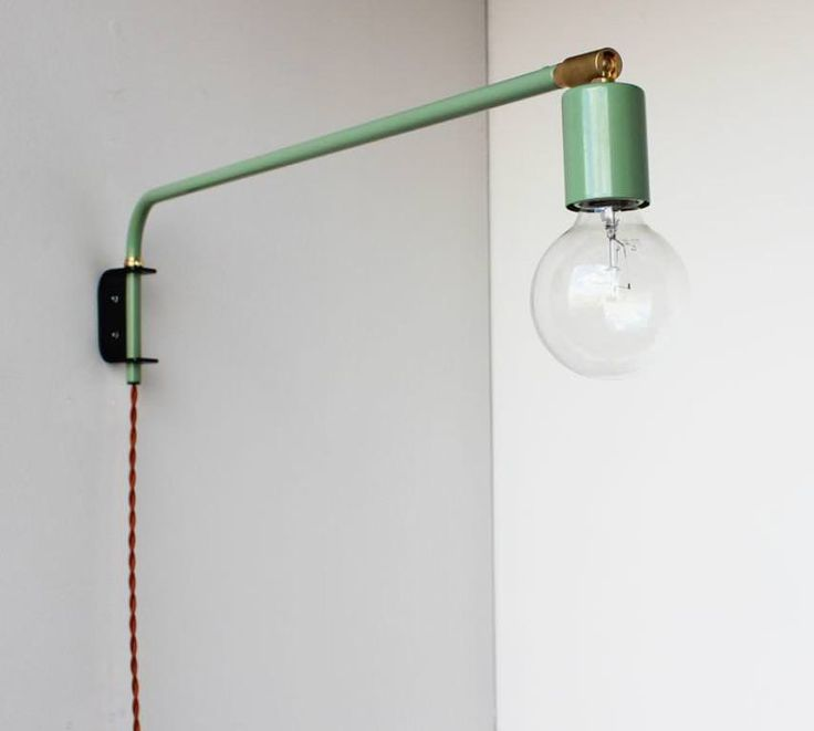 image of wall mount lamps swing arm