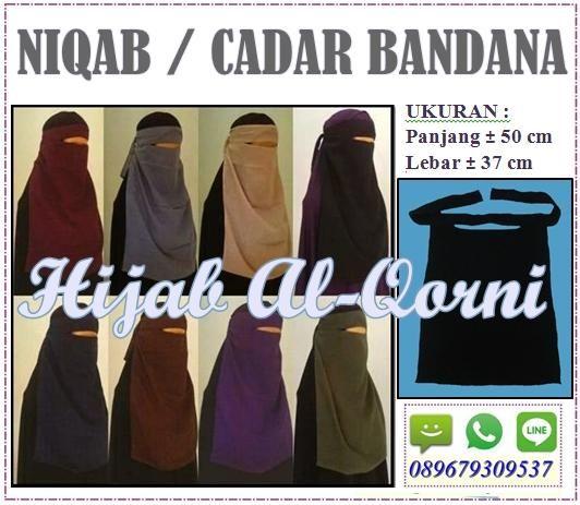 Cadar Niqab Bandana Jumbo