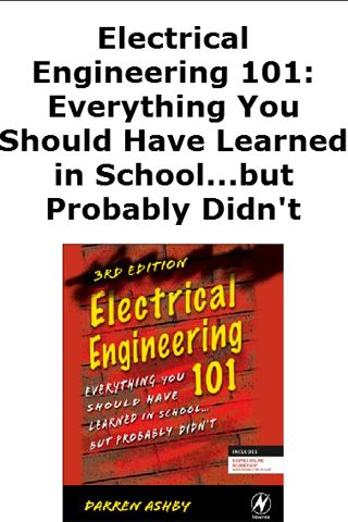 This application Will Display a List of The Best Electrical Engineering Book. You Can Chose The Most important Electrical Engineering Information about Books. You Can Purchase Book.Book & e-Book1. Electrical Engineering 101: Everything You Should Have Learned in School...but Probably Didn't 2. Electrical Engineering: Principles and Applications (5th Edition) 3. Electrical Engineering: Know It All: Know It All (Newnes Know It All) 4. Foundations of Electrical Engineering, 2nd E...