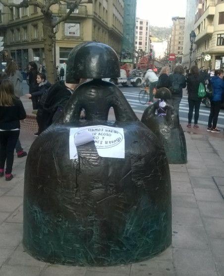 meninas hartas en Bilbao
