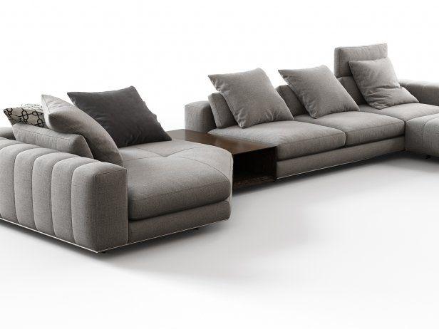 Freeman Corner Sofa System G 3d Model By Design Connected Corner Sofa Modern Sofa Living Room Living Room Sofa Design