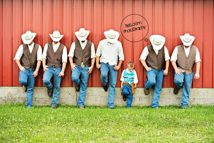 Look how cute that looks! I don't think I'll be getting the boys to wear cowboy…