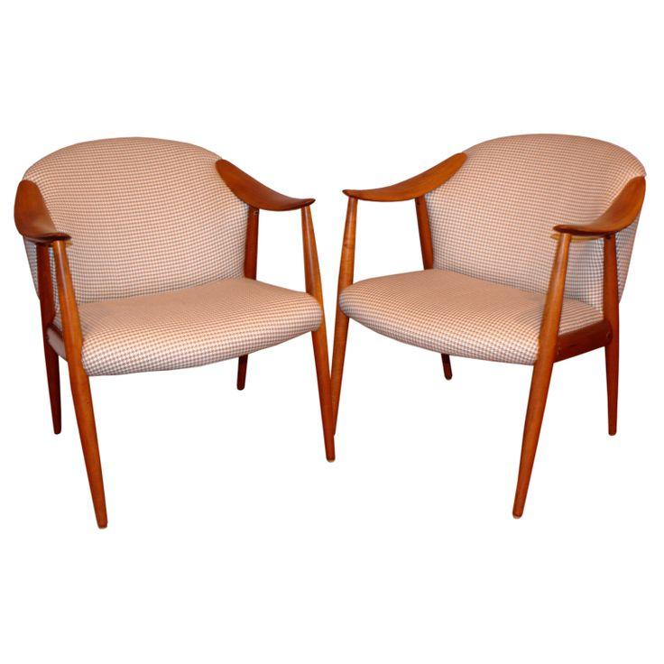 Pair of Norwegian Armchairs by Rastad   Relling  Scandinavian ModernMid  Century Modern FurnitureArmchairsWing. 94 best Mid Century Modern Furniture images on Pinterest   Mid