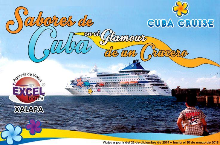 Disfruta de las maravillas de CUBA en un crucero, visita: La Habana, Antilla (Bahía de Nipe), Holgín, Santiago de Cuba, Bahía Montego Bay (Jamaica), Cienfuegos, Punta Francés. Viajes a partir del 22 de diciembre y hasta el 30 de marzo de 2015