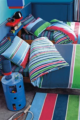 Buy Two Pack Bold Stripes Bed Set from the Next UK online shop