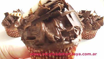 Cobertura de Chocolate ultra rica para Cupcakes y Tortas ♥