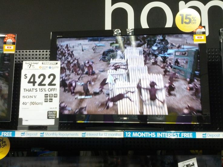 Zachary, Dick Smith.  sony 40 inch tv, $422.00