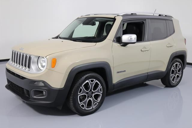 2015 Jeep Renegade Limited Sport Utility 4 Door 2015 Jeep Renegade Limited Htd Leather Rear Cam 32k Mi C37944 Texas Jeep Renegade 2015 Jeep Renegade 2015 Jeep