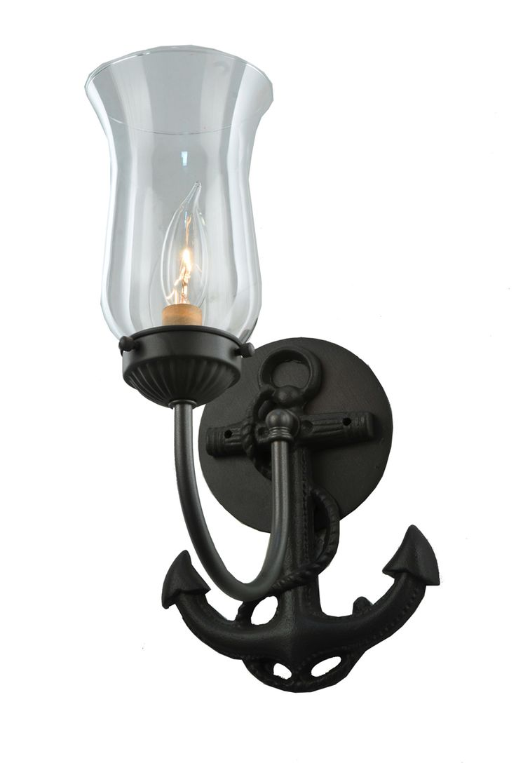 42 best nautical bath vanity lights images on pinterest meyda tiffany 109538 7w anchor wall sconce amipublicfo Image collections