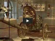 Chariot [Etruscan; From Monteleone, Etruria] (03.23.1) | Heilbrunn Timeline of Art History | The Metropolitan Museum of Art