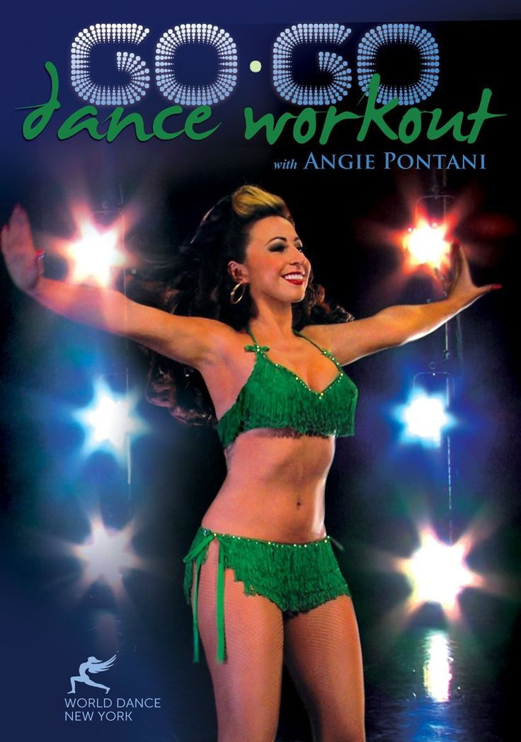 The Go-Go Dance Workout with Angie Pontani: Learn Go-Go dancing (full how-to) in a fitness class