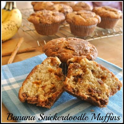 Banana Snickerdoodle Muffins | Gluten Free Bread Recipes | Pinterest | Snickerdoodle muffins, Bananas and Gluten free