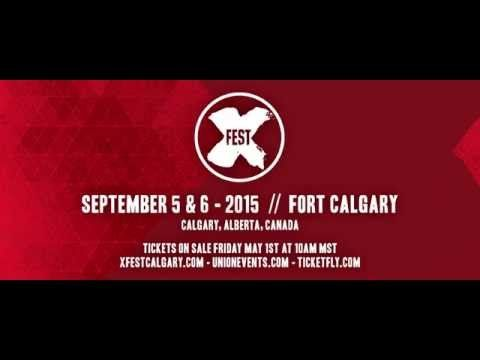 X-Fest - Calgary's Alternative Music Festival | Since its debut in 2011, X-FEST has become one of Canada's premiere alternative music events. 2015 will be hosted at Calgary's Fort Calgary venue over the Labour Day Long Weekend.