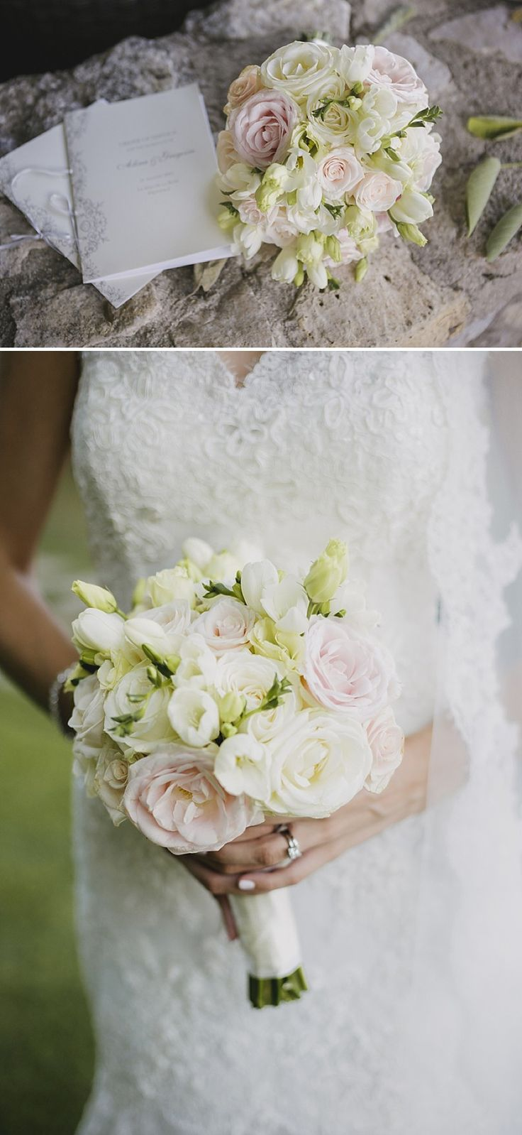 pastel wedding bouquet Provence | Pinned by Simon James Floral Design