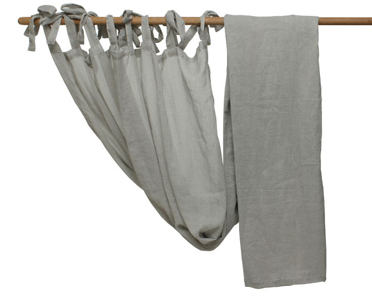 Charcoal Colour Cheesecloth Curtain