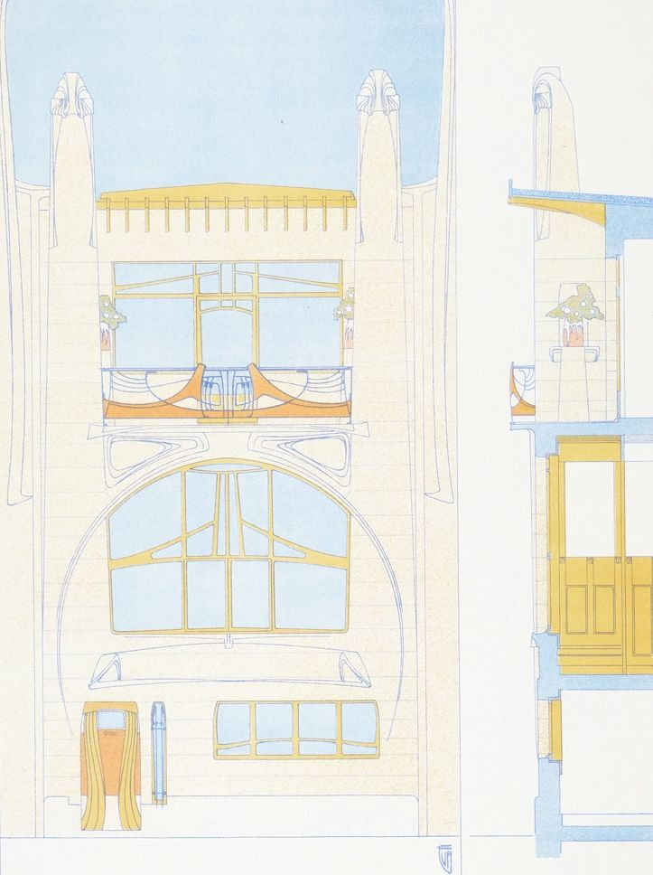 Inv. M. van Averbeke, Antwerpen | Julius Hoffmann Verlag | 1903 | Schola Graphidis Art Collection, Hungarian University Of Fine Arts - High School Of Visual Arts, Budapest | CC BY-SA