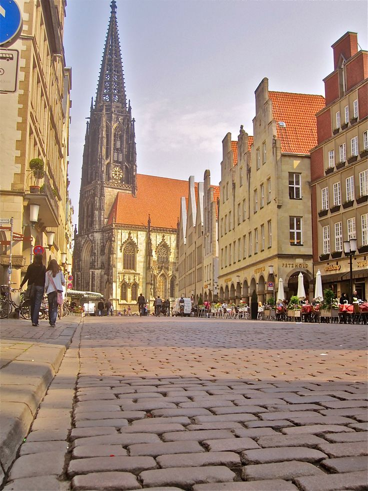 Prinzipalmarkt. Münster, Germany
