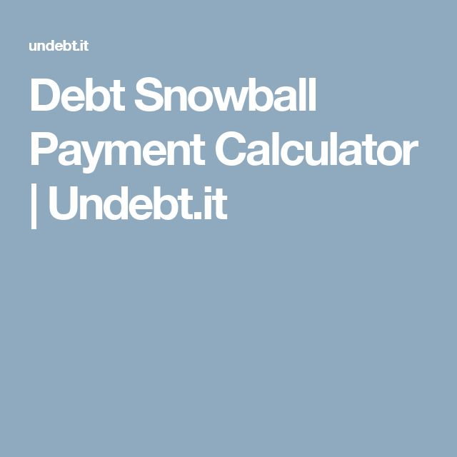 Best 25+ Debt snowball calculator ideas on Pinterest Pay off - credit card payment calculator