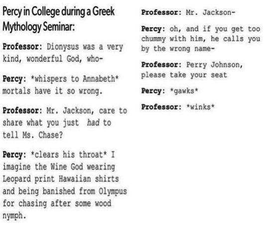 Mr. D would make a very interesting professor