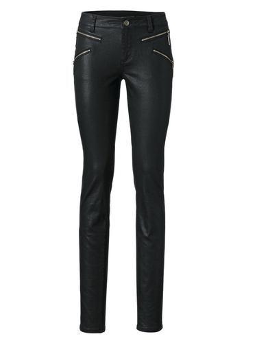 #B.C. #Best #Connections #By #Heine #Damen #Röhrenhose #schwarz Perfekter Sitz durch Elasthan. Moderner Lässig-Look mit dezenter Glanz-Beschichtung. Schrittlänge bei Normal-Größen ca 79 cm, bei Kurz-Größen ca 73 cm.
