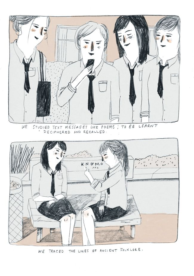 Zines - About Today - Illustration by Lizzy Stewart