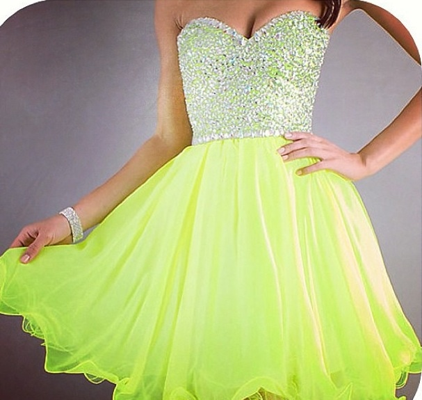Best 20  Neon prom dresses ideas on Pinterest | Neon homecoming ...