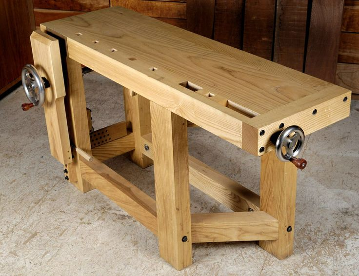 Short Roubo Workbench Woodworking Furniture Woodworking