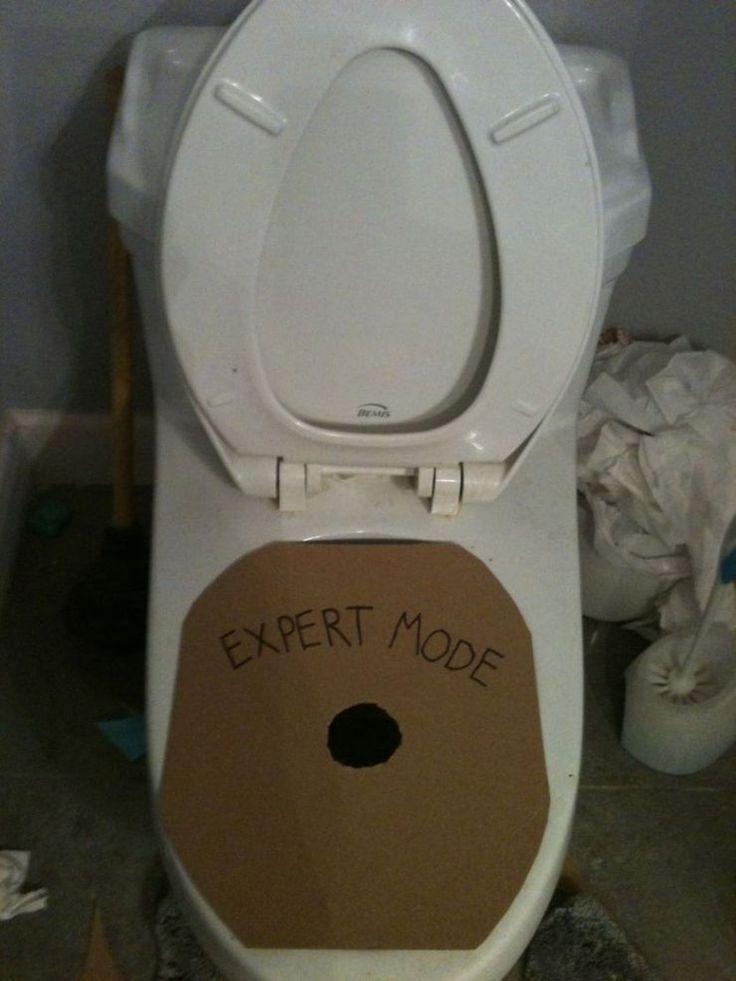 Toilet humour!
