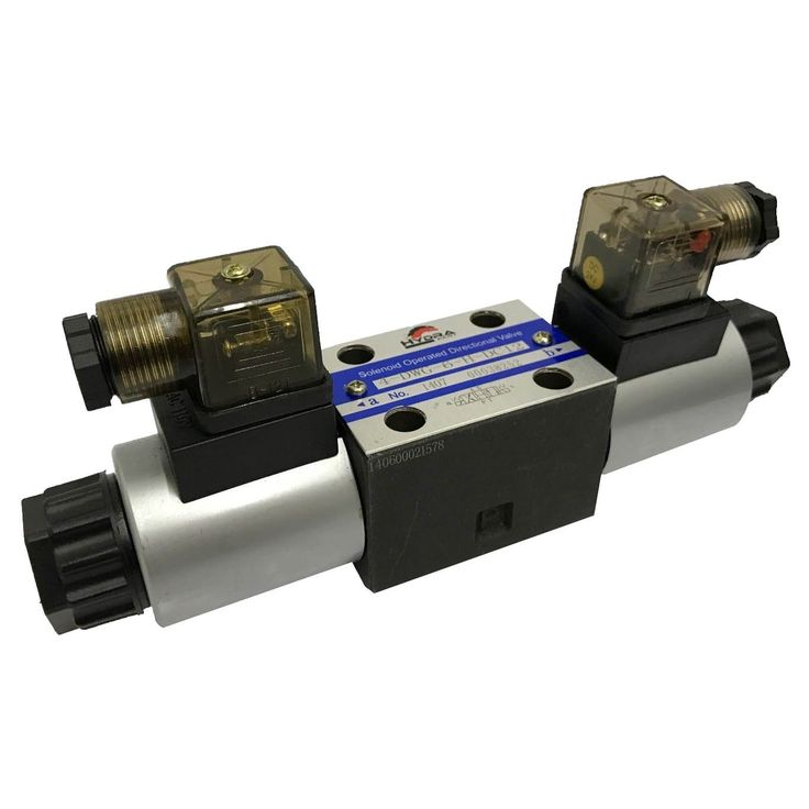 Cetop 3 double solenoid control valve ng06 p to t a b