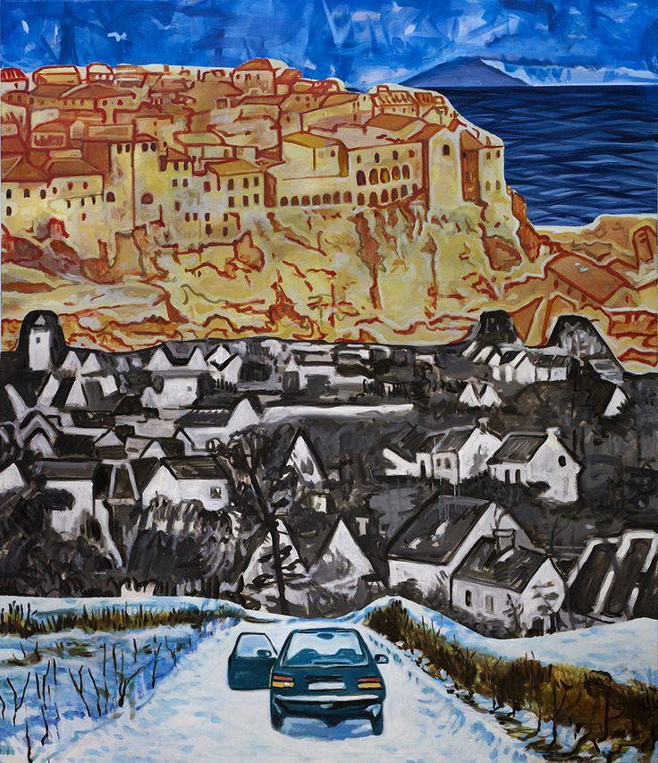 wayIII, 2015 170x145 cm  oil on canvas