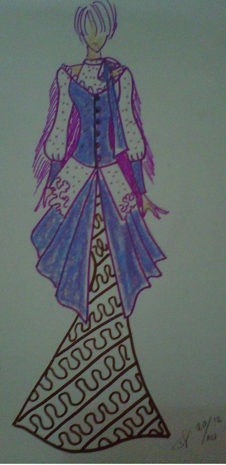 Indonesian Fashion Illustration